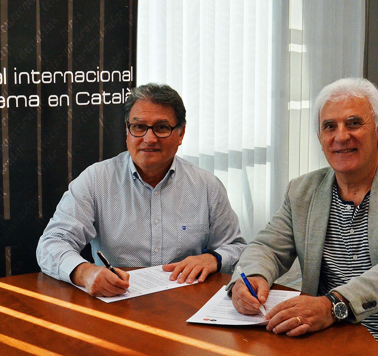 Pere Virgili i Antonio Barrero