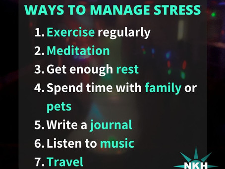 Self Care: How to Manage Stress
