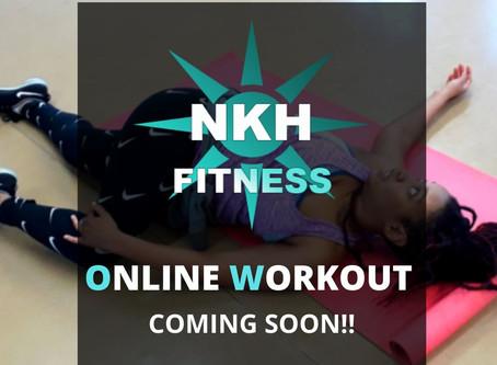 Online Workout Update