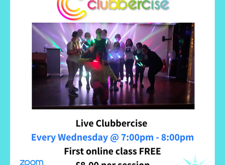 [TONIGHT] Live Clubbercise