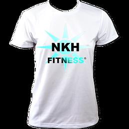 NKH Fitness Tech T-Shirt (White).png