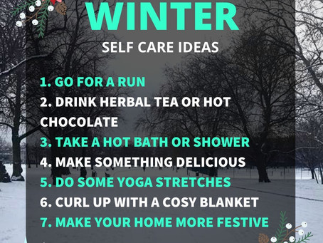 Self Care Winter Tips