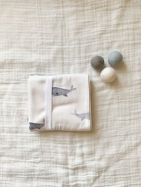 Waterproof Changing Pad-Whale