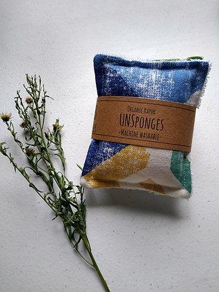 UNSponges 2 Pack - Eco Friendly Reusable Sponges - Mix Prints
