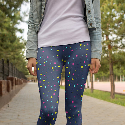Dotted Party Yoga/Workout Leggings