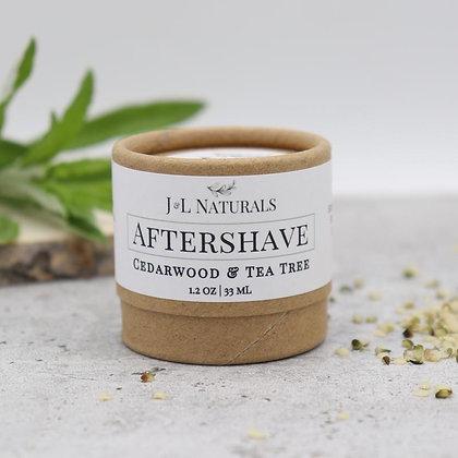 CEDARWOOD & TEA TREE | AFTERSHAVE RUB