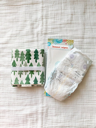 Waterproof Changing Pad- Forest