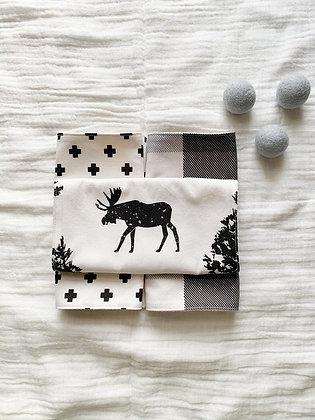 Burp Cloth Set-Moose