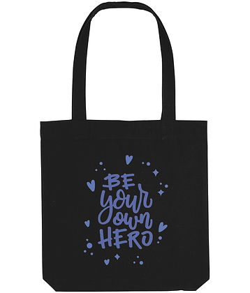 Be Your Own Hero Recycled Eco-Friendly Tote Bag
