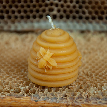 15pcs Natural Beeswax Candles 100% Pure 1lb Total Weight