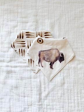 Baby Bibs- Buffalo