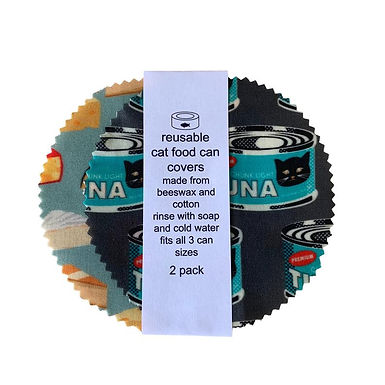 Cheese & Tuna Eco Can Covers