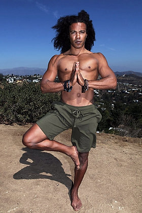 Men's Yoga Ninja Shorts Organic Eco-Friendly