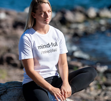 MINDFUL / ORGANIC COTTON / UNISEX CREW