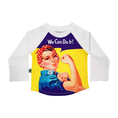 Raglan Top - We Can Do It!