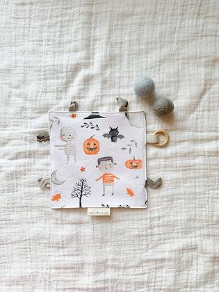 Sensory Teething Lovey-Halloween