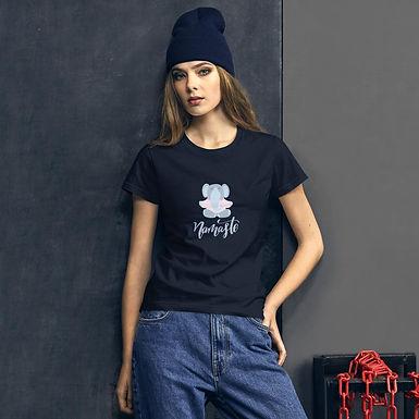 Namaste Elephant Fashion Fit T-Shirt