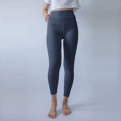 High Waist Dark Blue Yoga  & Workout Leggings