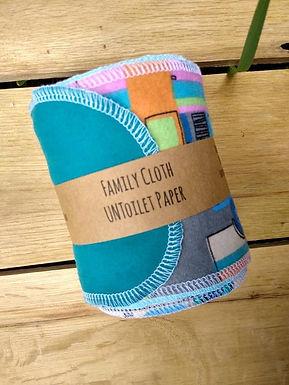 UNToilet Paper Family Cloth Toilet UNPaper Strips