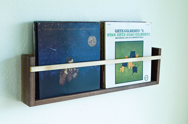 Modern Magazine & Vinyl Wall Rack