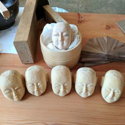 100 Chahakobi Ningyo heads