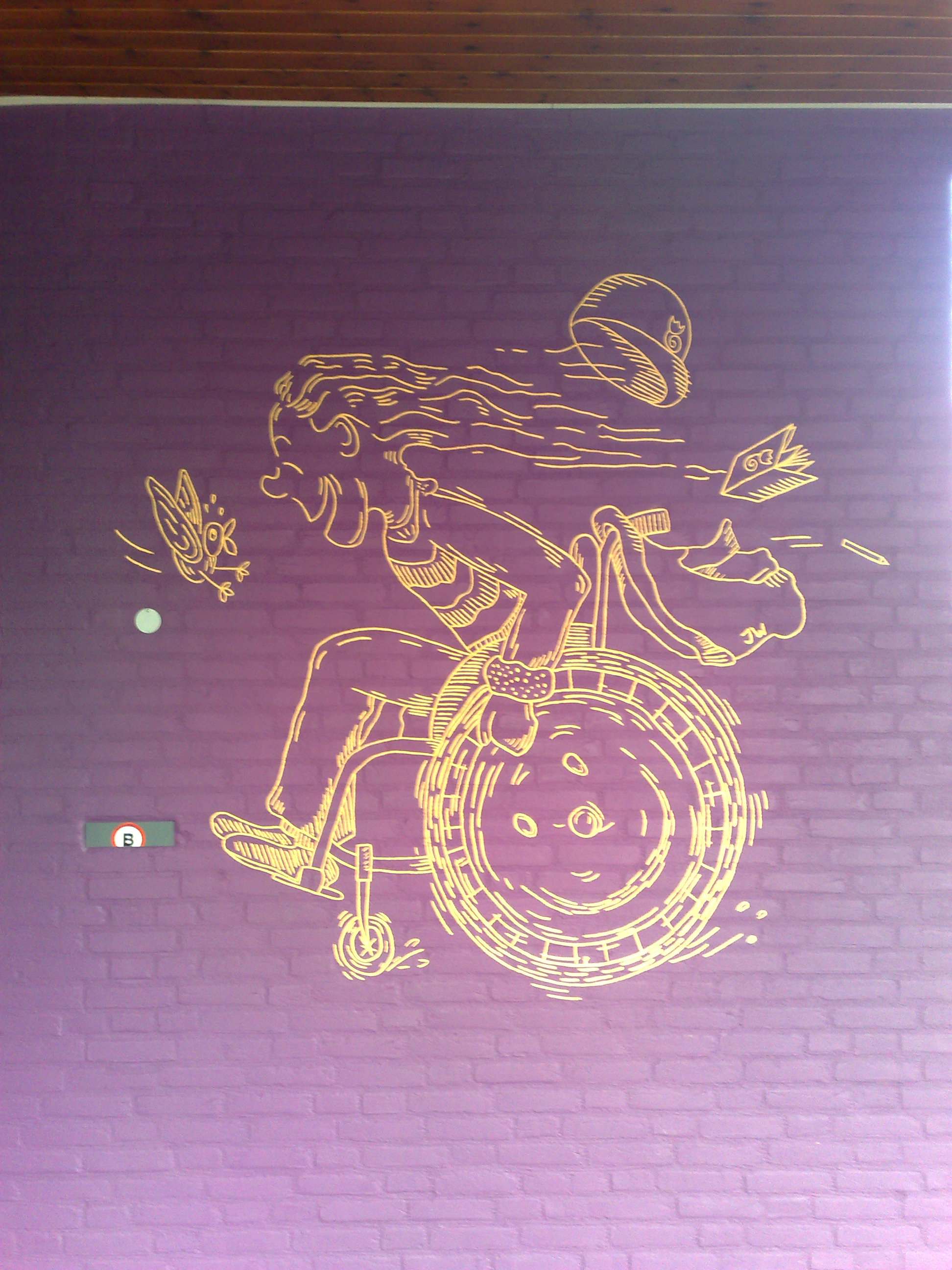 Beletteringen School Breda gs rijen