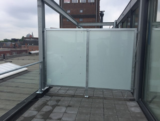 project balustrades en privacy schermen te Breda