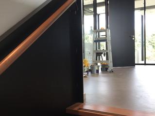 schilderwerk kantoor en showroom bedrijfspand te Breda