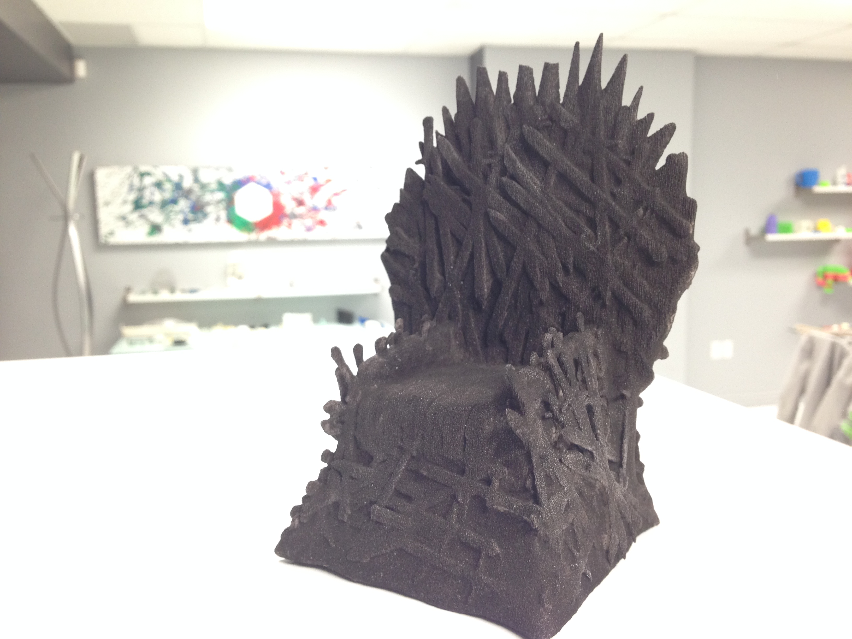 Games of thrones dyed black