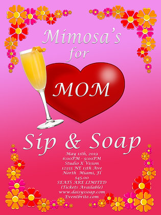 Mimosa's for Mom Sip & Soap