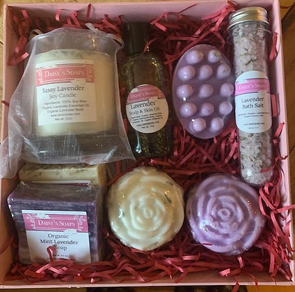 Lavender Rose Gift Box