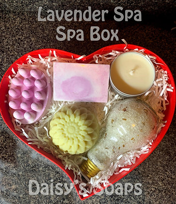Lavender Spa Box