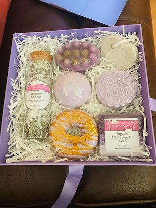 Lavender Mint Spa Box