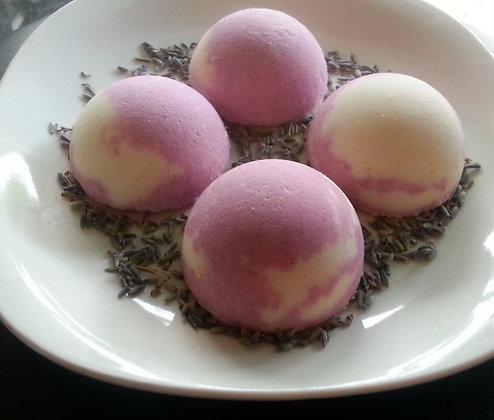 Lavender Cream Bath Bomb