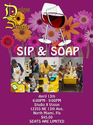 Sip / Soap Making