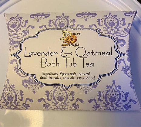 Lavender & Oatmeal Bath Tea