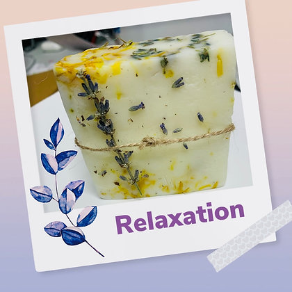 Relaxation Lavender Calendula Soap