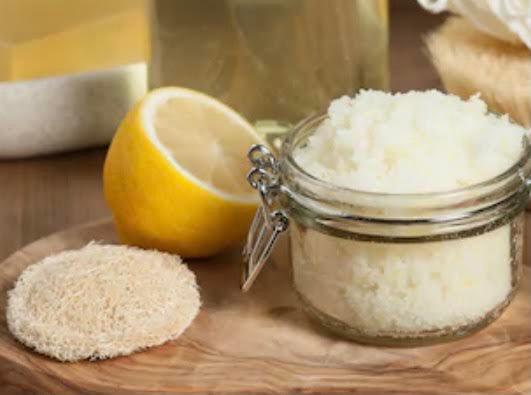 Lemon Zest Sugar Scrub