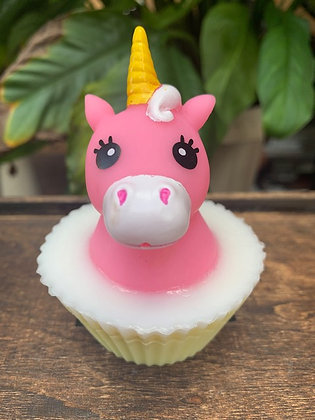 Unicorn Cupcake Soap (Unicorn that Squirts)