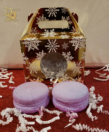 Lavender Macroon Bath Bomb
