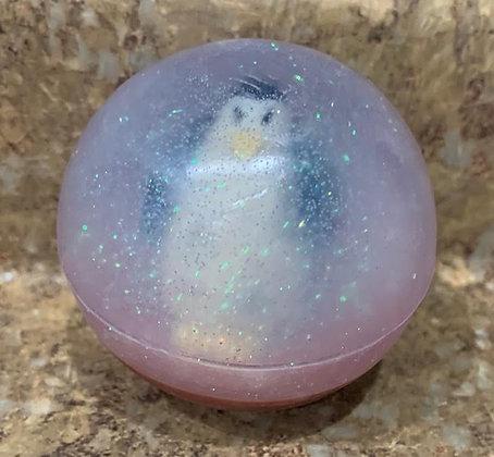 Penguin Snow Globe Soap