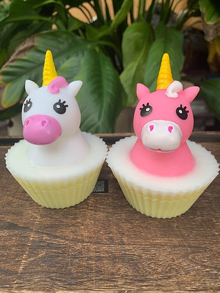 Unicorn Cupcake Soap (Squirts water)