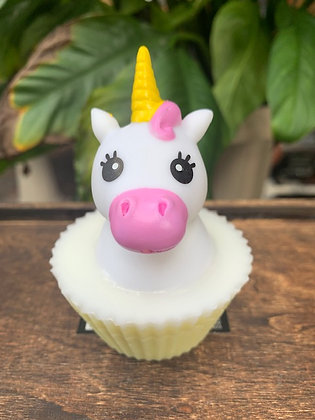 Unicorn Cupcake Soap  Squirts water)