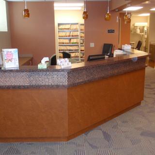 Dentist Reception Desk