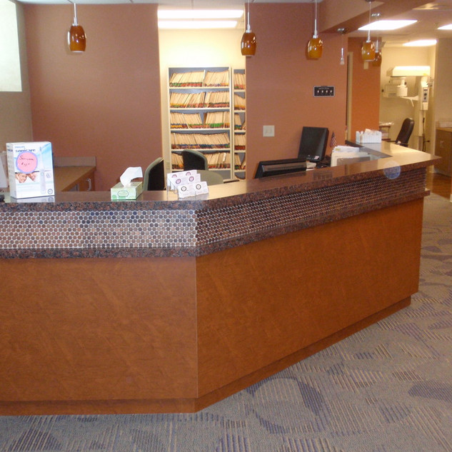 Dentist Reception Desk