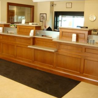 Bank Front Teller Station