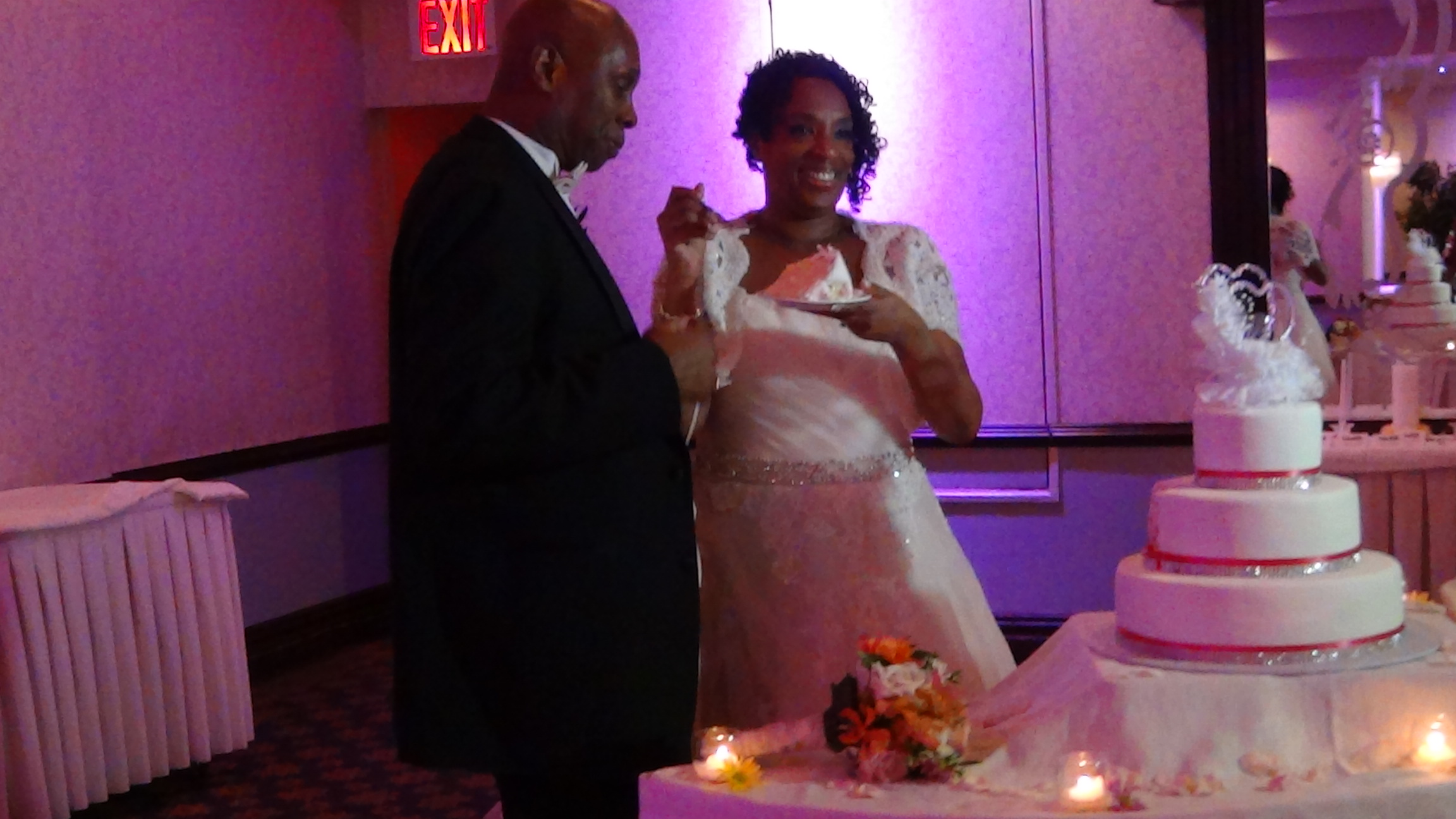Chandra & Larry Oct 11, 2014