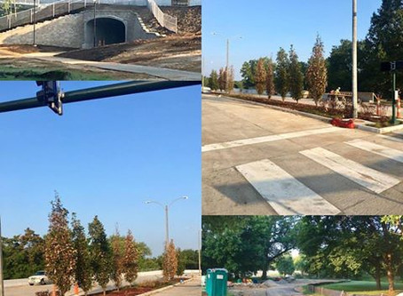 Yeah!! Forest Park Parkway Open Again!