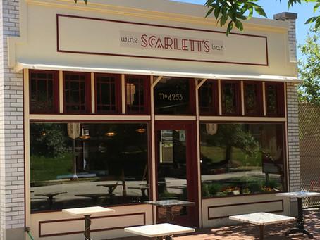 Scarlett's Wine Bar - Opening Soon!