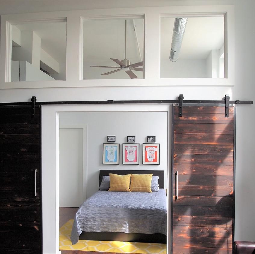 Master Bedroom -Custom Doors